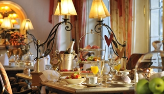 Jagdhof Gourmet Luxury Breakfast